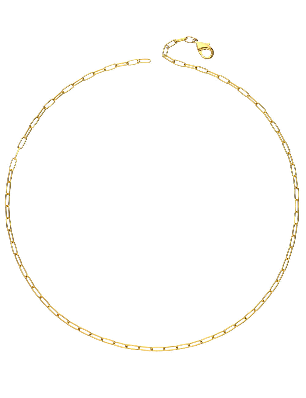 925 Silver Gold Chain Necklace _ 골드 체인목걸이 라비쉬에